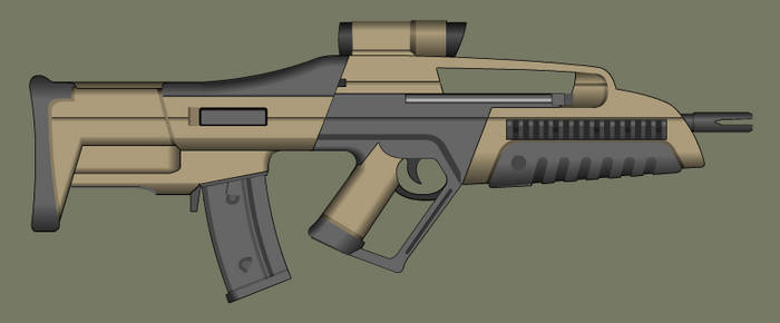 Bullpup Xm8 by PatTheGunartist