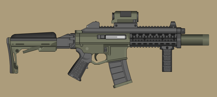 Mongoose  PDW by PatTheGunartist