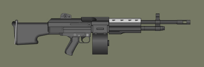 HOG LMG by PatTheGunartist