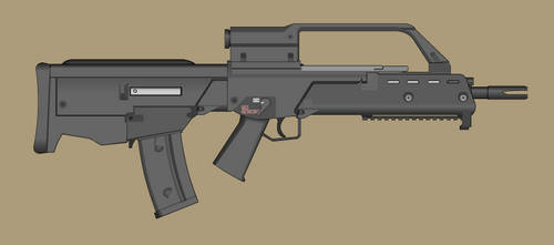 HK G36 Bullpup by PatTheGunartist
