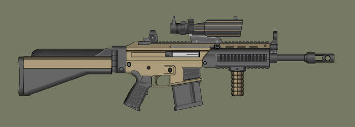 H.M.A. Battle rifle by PatTheGunartist