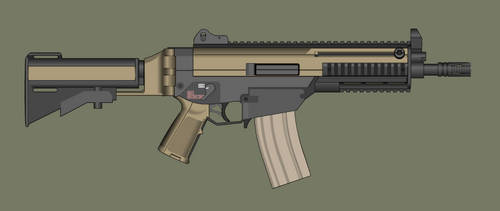 Remoldeled G36 by PatTheGunartist