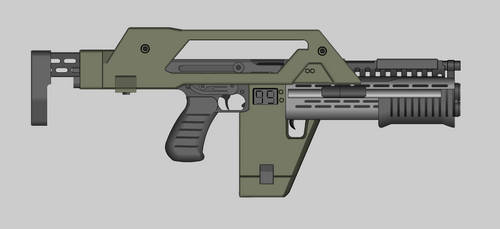 M41A Pulse Rifle by PatTheGunartist