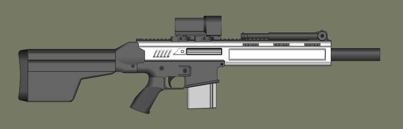Whitout Marksman Rifle