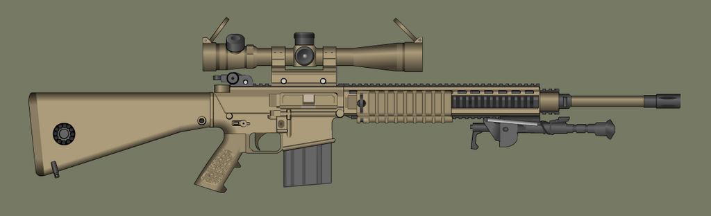 M110 SASS by PatTheGunartist