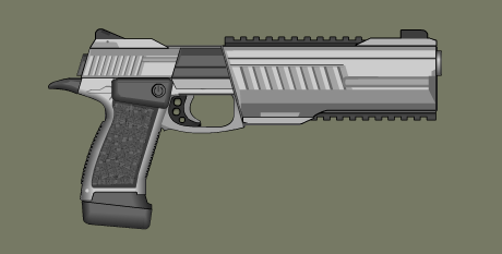 QB Pistol by PatTheGunartist