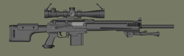 AK DMR Quick build by PatTheGunartist
