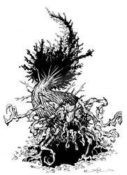 Pinophyatian Horror Monster