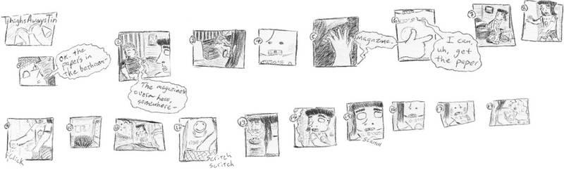 Scritch scritch ~ArtGumshoe.com 10.33