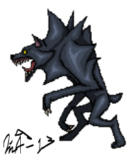Mythical - Werewolf by Kurvos