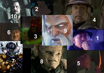 Top 10 Underrated Villains by Kurvos