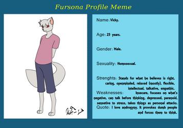 My Fursona Meme by Kurvos