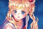 Sailor Moon Redraw Challange