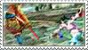 Stamp: Kilik + Xianghua by iKazuko