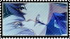 Stamp: Nanami + Akito by NohrPrincess