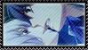 Stamp: Nanami + Akito by Juvenori