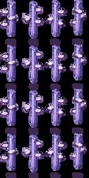 Charset Cristaux magiques [RPG Maker XP] by Dahakinou