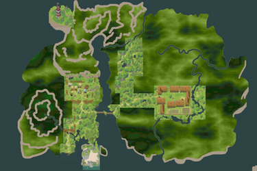 Map First Island [RPG Maker XP] - Work in progress by Dahakinou