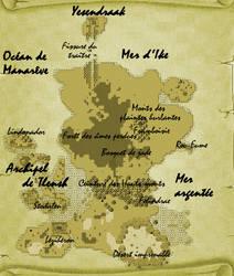 Worldmap of Elianghor [RPG Maker XP] - WIP by Dahakinou