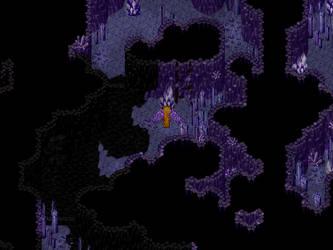 Les grottes cristallines [RPG Maker XP] by Dahakinou