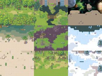 Battleback 02 [RPG Maker XP] by Dahakinou