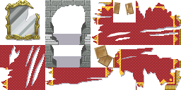 Tileset ''Chateau en ruines'' [RPG Maker XP]