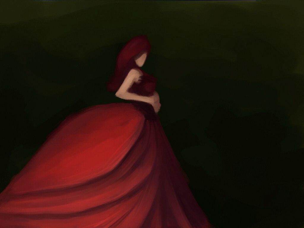 Redwoman by Oliya