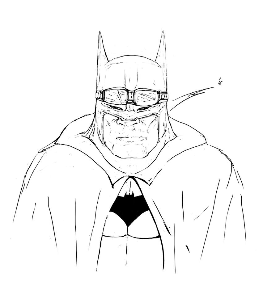 Batman Sketch by ArtofStreet