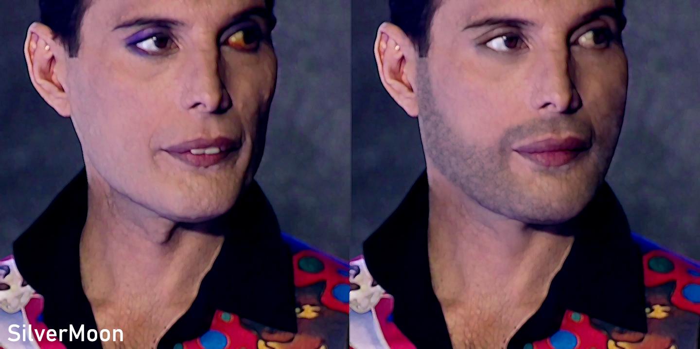 Transforming Freddie Mercury In 1991 To 1989 90 By Silvermoon Deviant On Deviantart