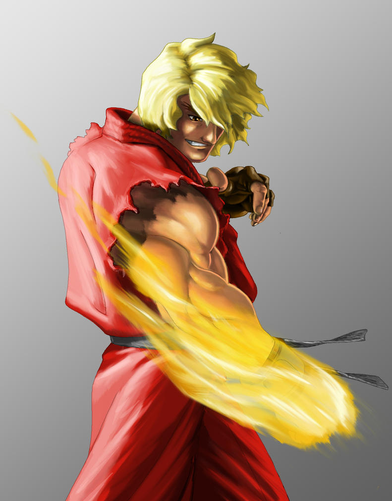Ken Masters by richardlively83