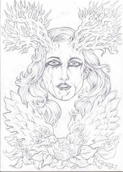 Spirit of Gaia - Pencil