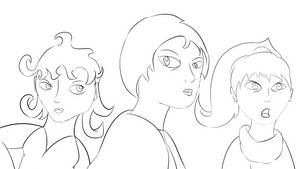 The Lifers - The Lifers Women Concept Sketch by Tinker-Jet