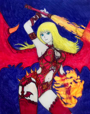 Fairy Tail : The Dragon Queen of Velen by Billy-Cash