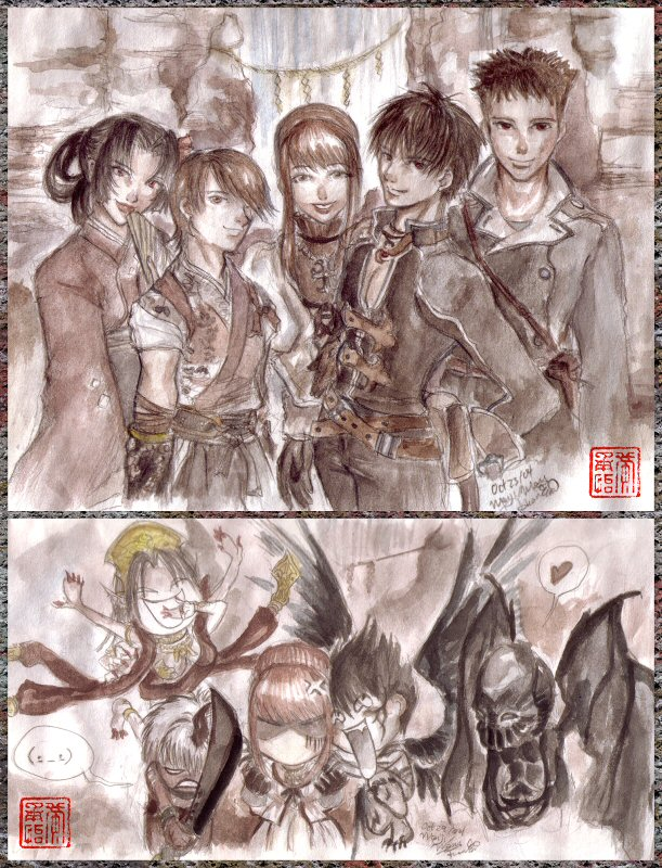 Image result for shadow hearts hyuga family