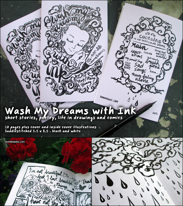 Wash My Dreams with Ink by maiji