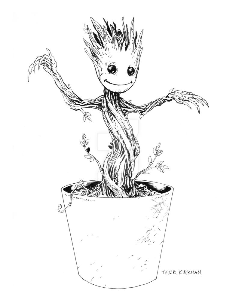 Baby Groot By TylerKirkham On DeviantArt