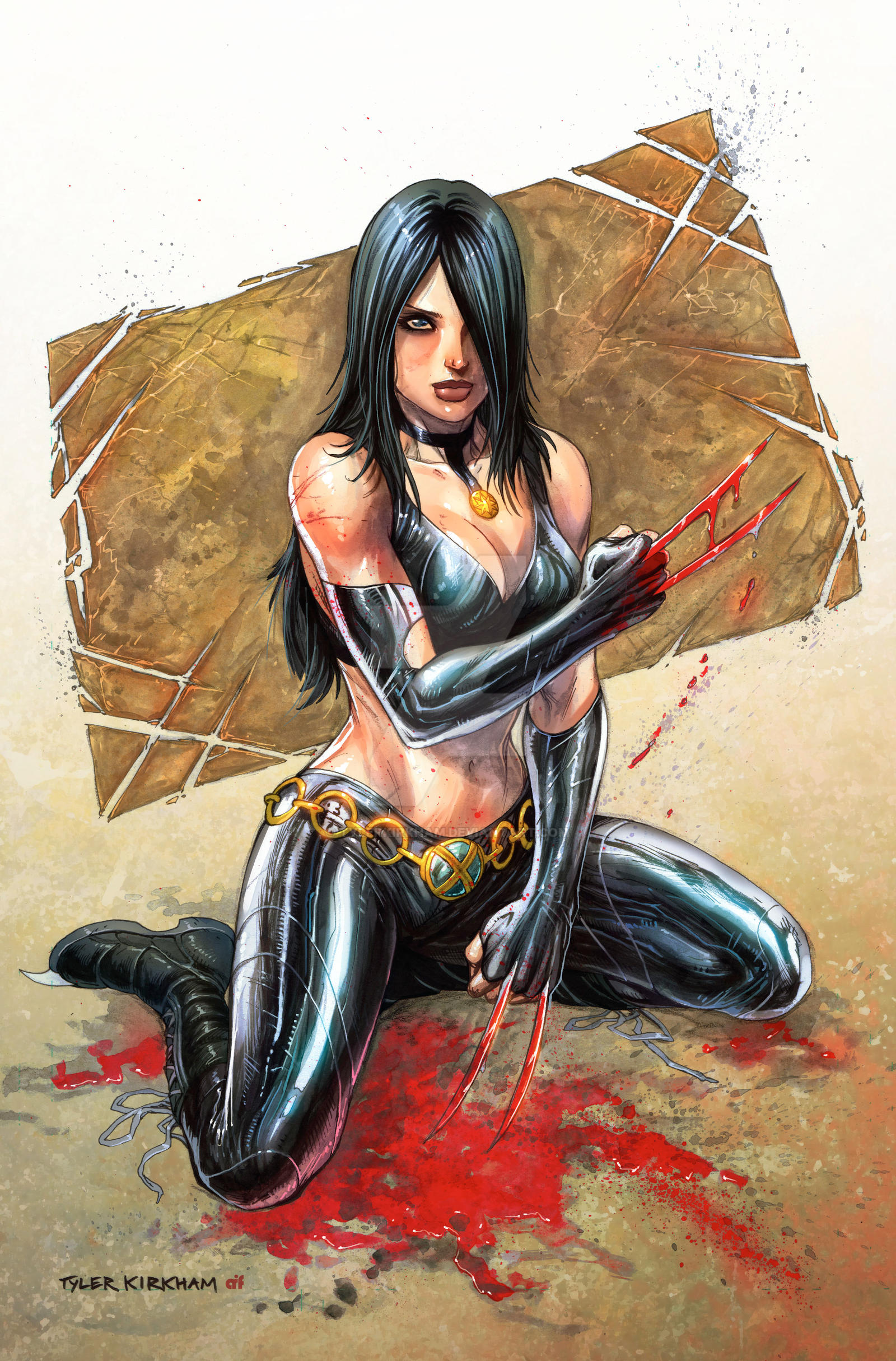 X23 commission colored by TylerKirkham on DeviantArt X 23