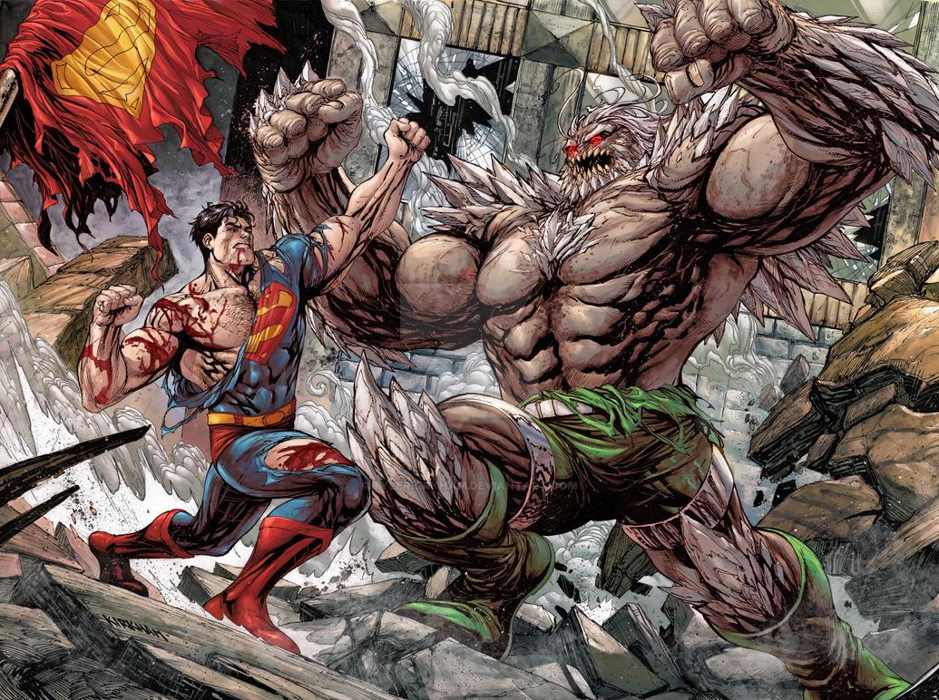 Superman Vs Doomsday Death Of Superman By Tylerkirkham