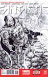 Dr Doom Sketch Cover