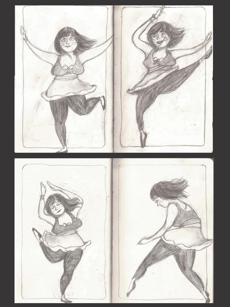 Ballerina by Zzombieluv