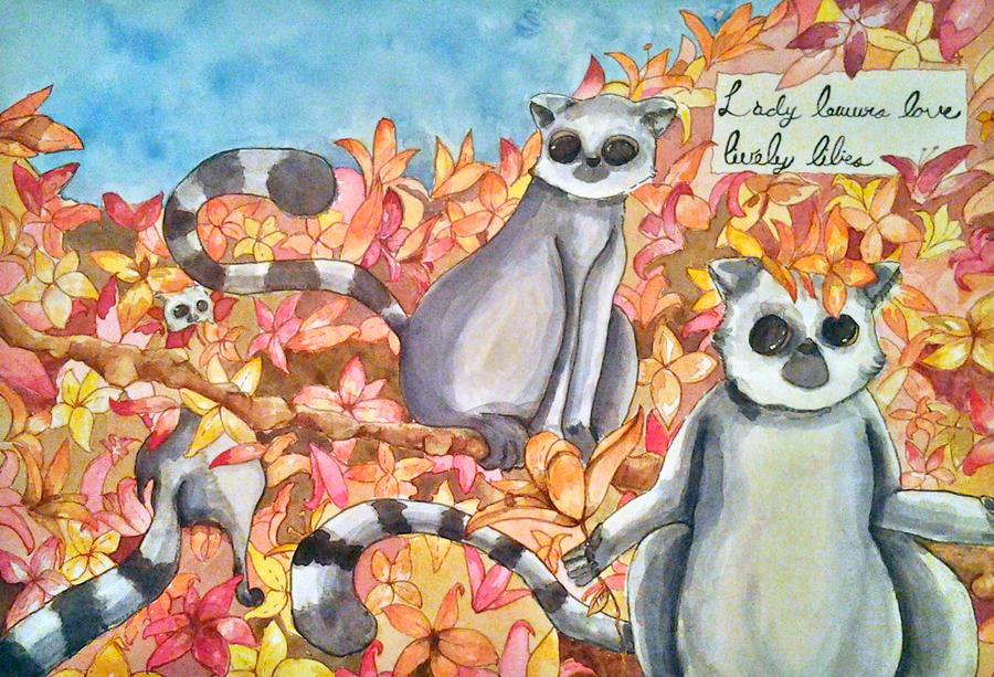 Lady Lemurs by Zzombieluv