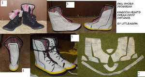 Shoe Covers or Additions Tutorial and Tips