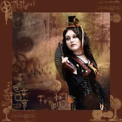 Steampunk fashion by Drucila222