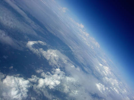 Clouds on Blue Planet