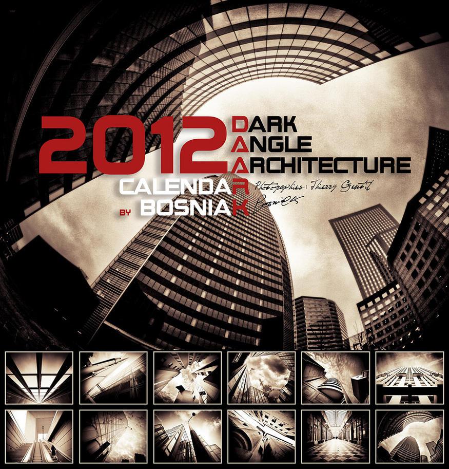 Calendar 2012 DAARK 2 - choco by bosniak