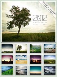Calendar 2012 : Landscapes