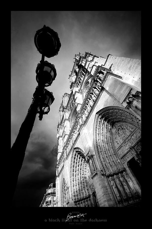 a black light on the darkness by bosniak