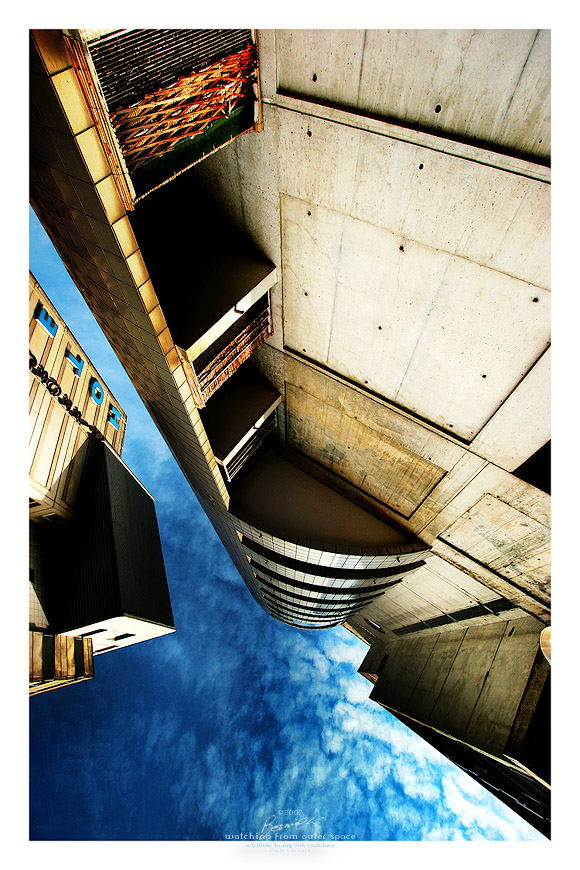 Watching from outer space by bosniak on deviantart for Outer space architecture design
