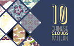 10 PNG Chinese Clouds Pattern