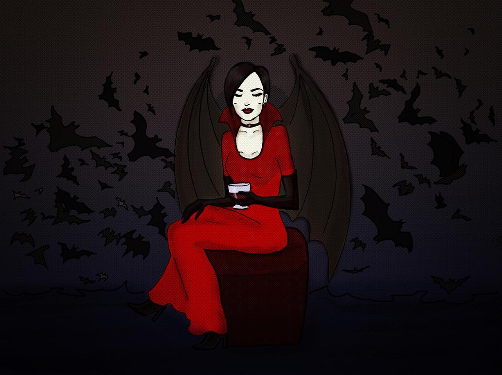 Vampire Bats by Erzaix